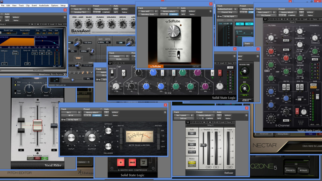Mixing and Mastering plugins